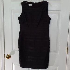 London Times Petites 12p Ruffled Dress